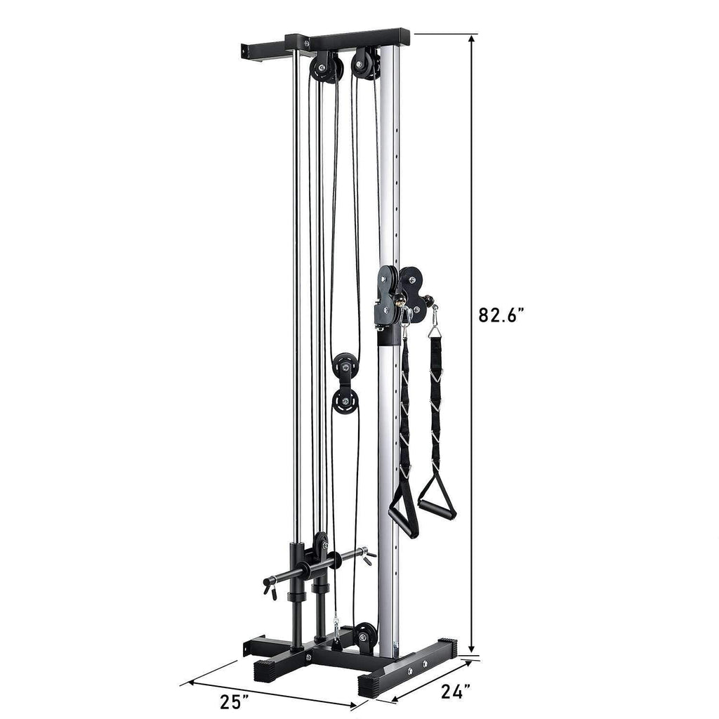 New Home Gym Wall Mount Cable Station | Vanswe Vanswe
