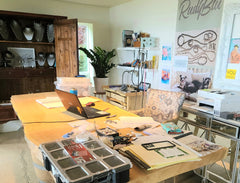 rudyblu jewelry studio office