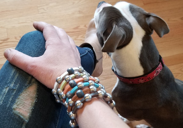 Modern Boho Leather & Steel Bracelets