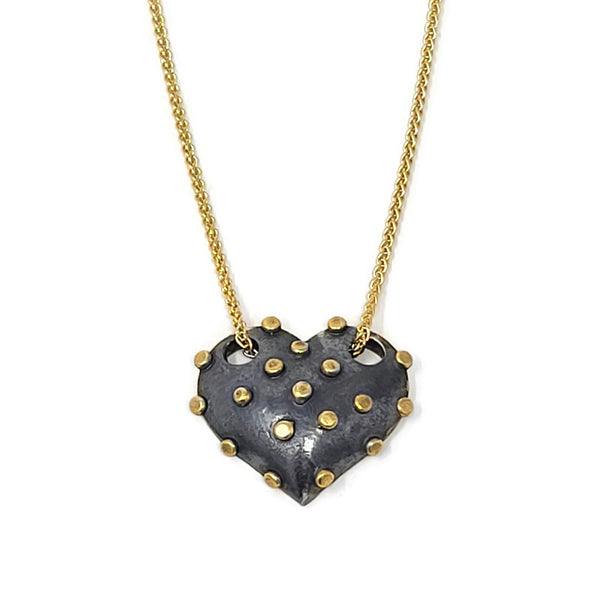 True Grit Gold Heart Necklace
