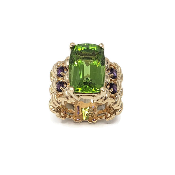 Arizona Peridot Maria Ring