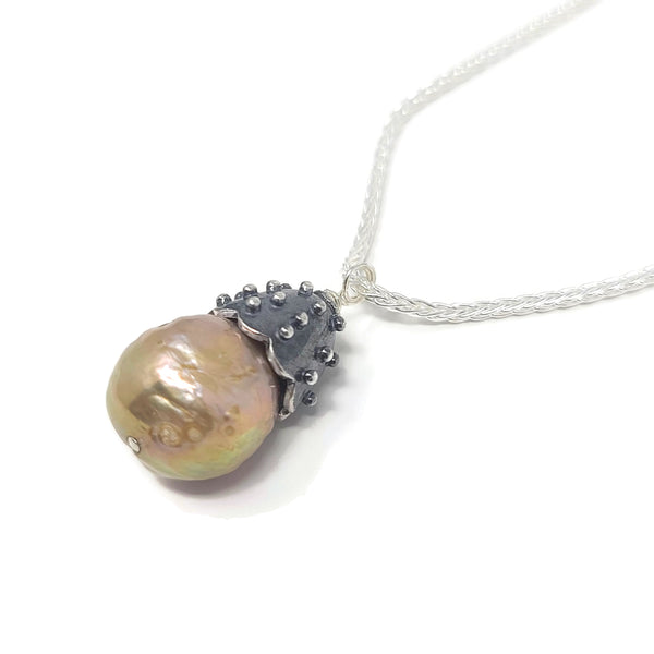 Urban Pearl Pendant Necklace