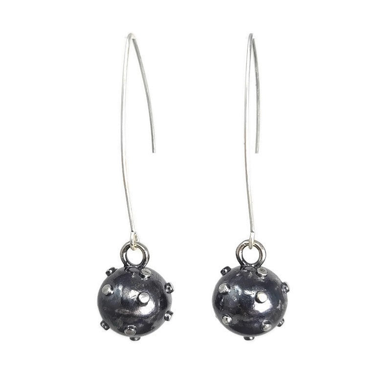 Wrecking Ball Hook Earrings