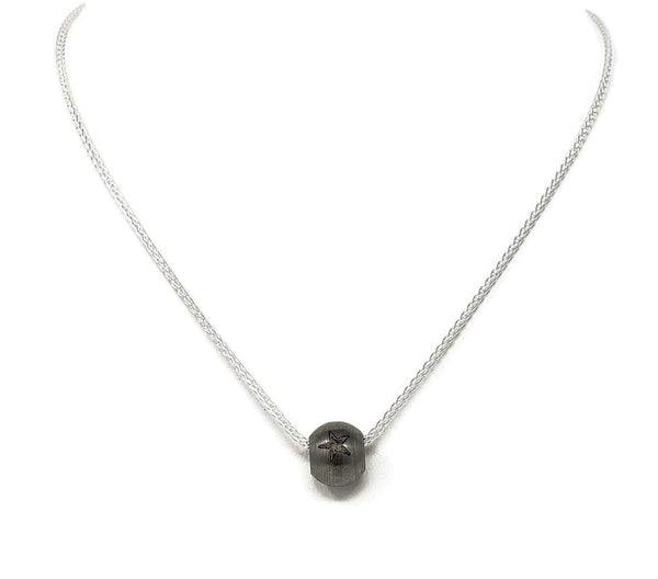 Stainless Steel Bead Necklace