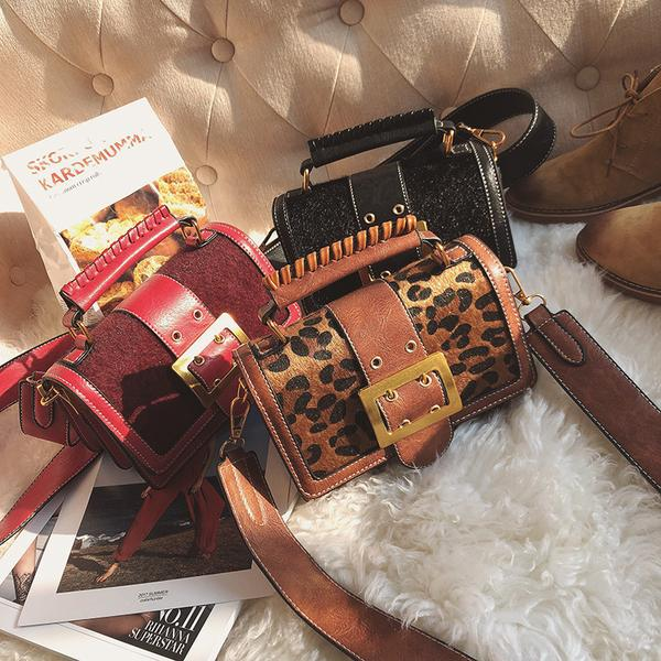 Korean Fashion Leopard Print All Match One-Shoulder Bag