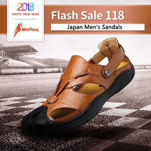 【Add 50 Get Second】Japan Men's Fashion Sandals