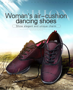 【Add 30 Get Second】All-match air-cushion heighten net cloth breathable fashionable casual shoes