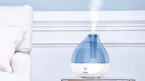 humidify and moisturize your skin
