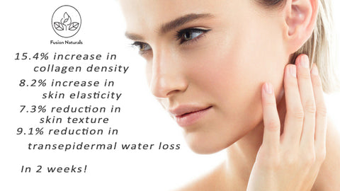increase skin elasticity with collagen booster