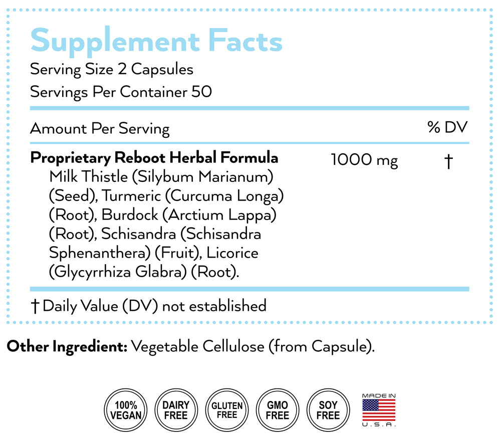 refresh supplement nutrition facts