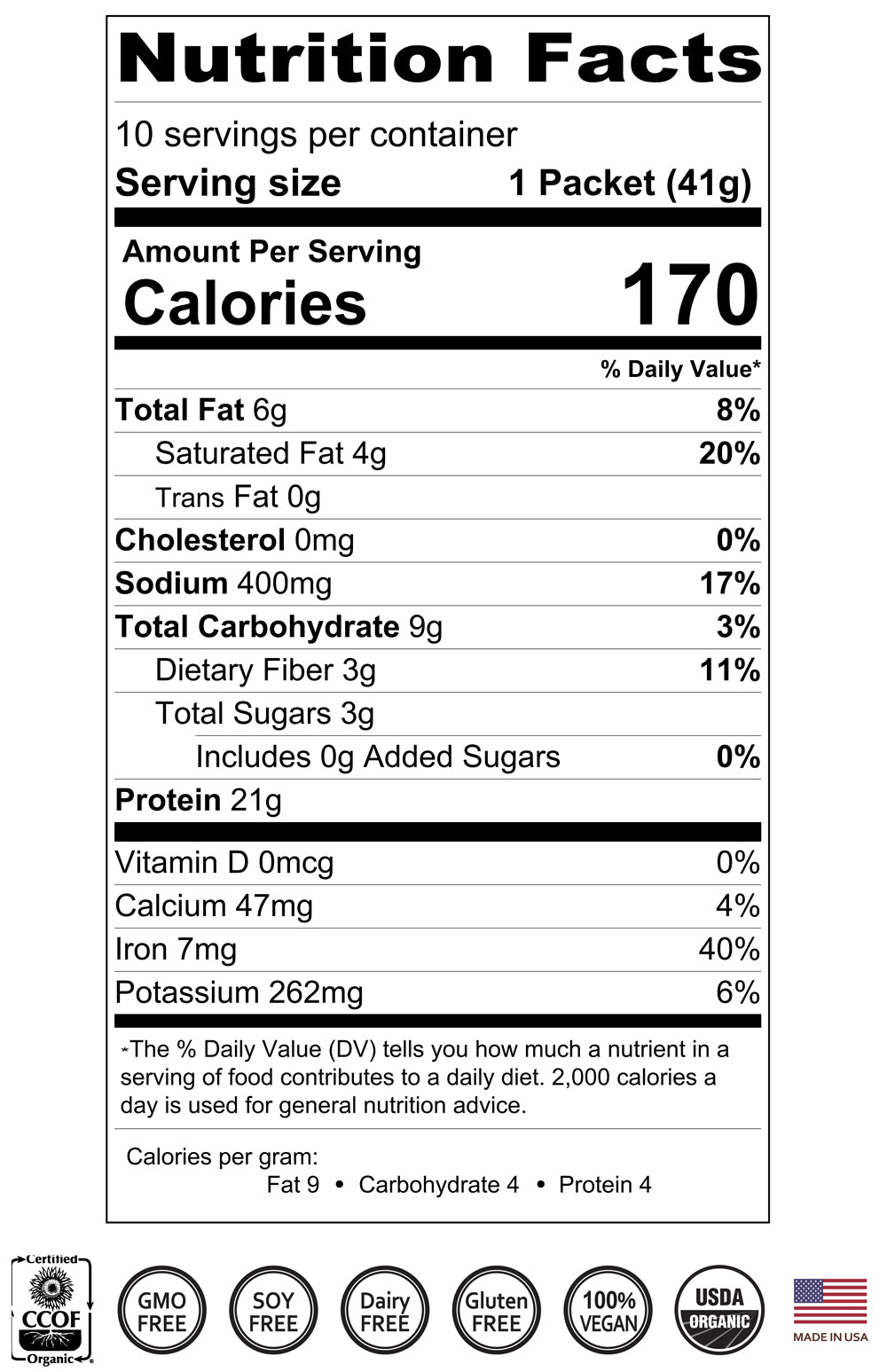 swiss chocolate protein supplement nutrition facts