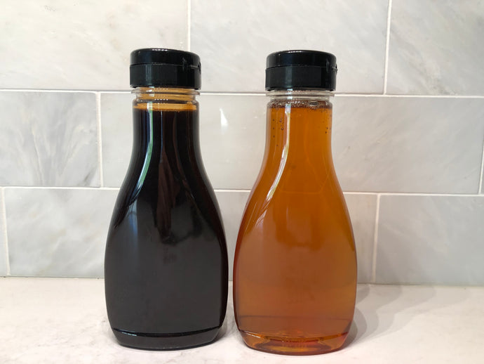 Don't cook with honey; consider date syrup instead