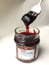 Beetroot paste on spoon |Beetroot Jam