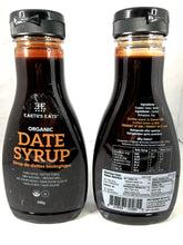 Organic Date Syrup Jar | Front & Back