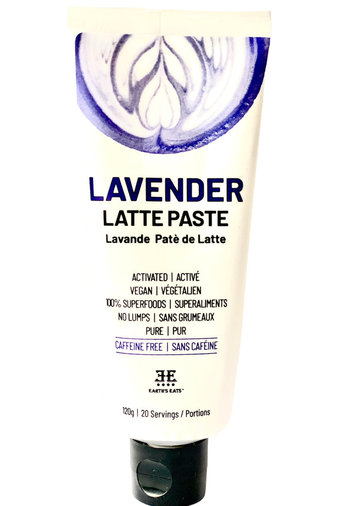 Lavender Tea Latte Paste  | 120g | 20 Servings - Earth's Eats