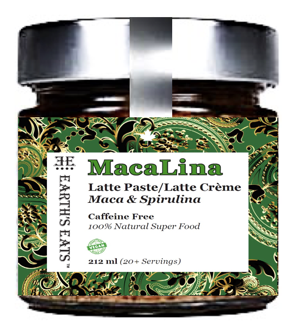 Maca Spirulina Latte Paste | Mermaid Latte