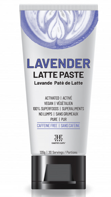 Lavender tea latte paste mix