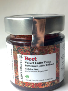 Beetroot Latte paste | Earth's Eats