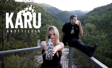 Karu Distillery Lookout over the Devils Wilderness NSW Blue Mountains National Park Nick and Ally Ayres Australian Distillers Affinity Gin
