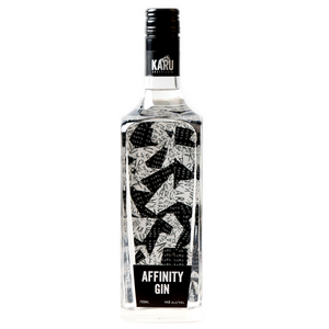 Affinity Gin Bottle from Karu Distillery