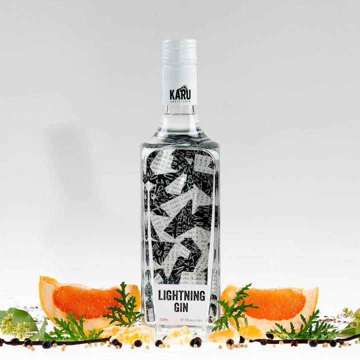 Karu Distillery's Award-winning Lightning Gin
