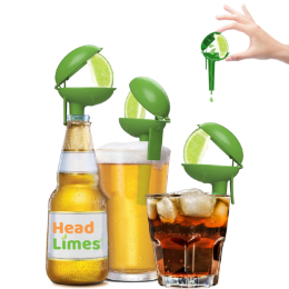 6-pack, HeadLimes Gator - Fun Engaging Lime Squeezer...