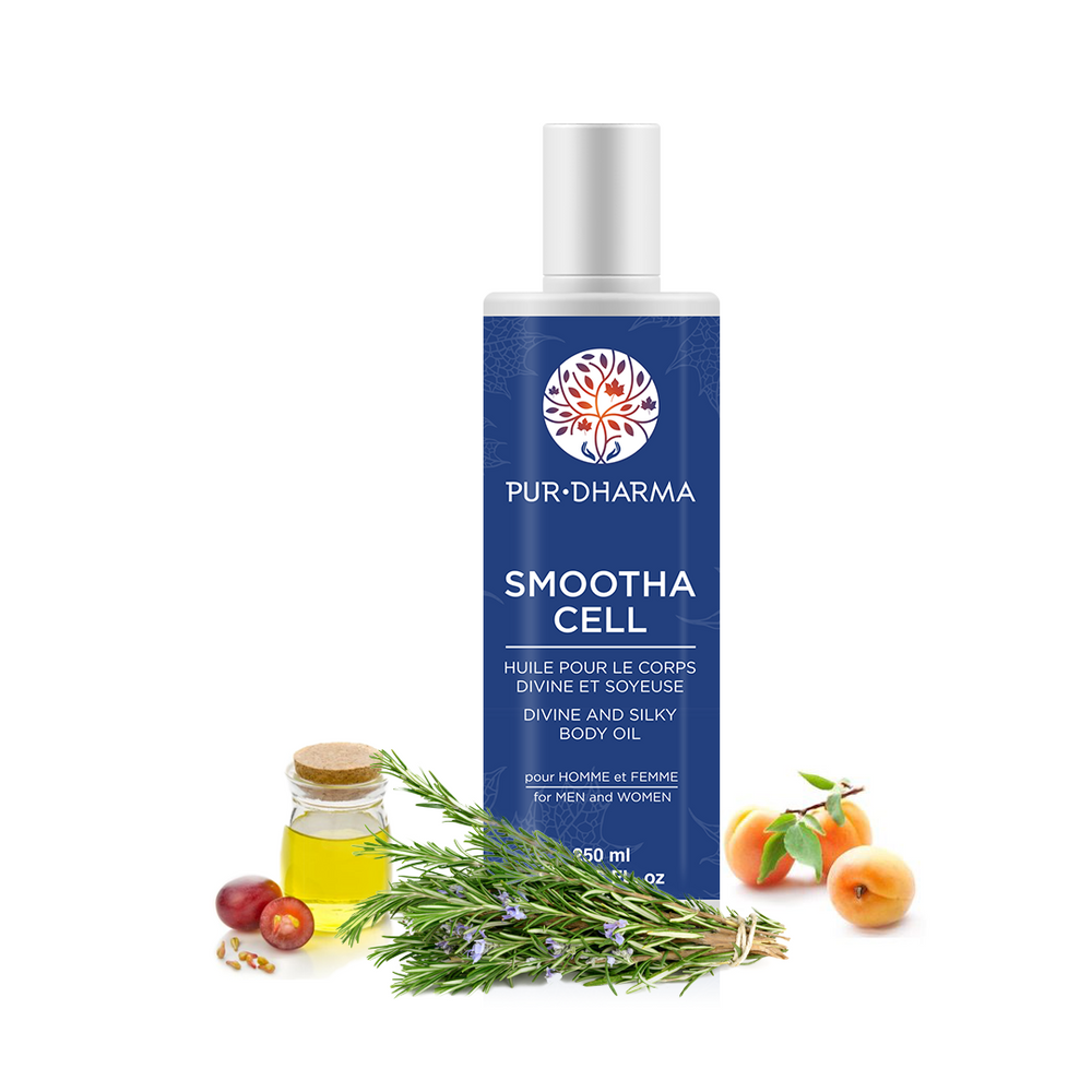 Smootha Cell (250 ml) - Divine and Silky body oil
