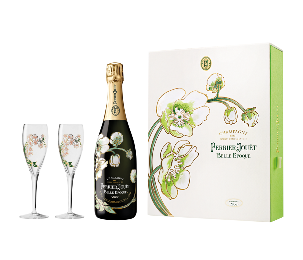 Gift Box With Flutes - Perrier-Jouët Belle Epoque Brut 2011
