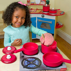 Melissa and Doug Play Kitchen - Pots & Pans