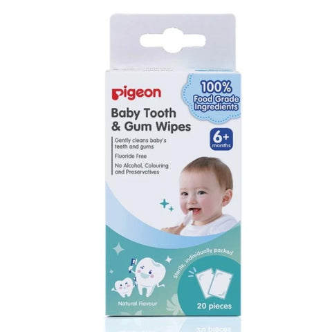 Pigeon Baby Tooth And Gum Wipes