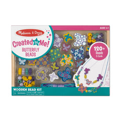 Melissa & Doug Created by Me! Butterfly Beads Wooden Bead Kit 4 years+