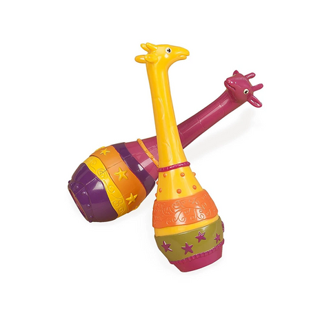 B.Toys Giraffe Maracas (Set of 2)