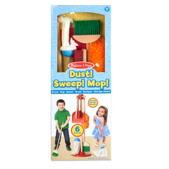 Melissa and Doug Play House - Dust, Sweep, Mop