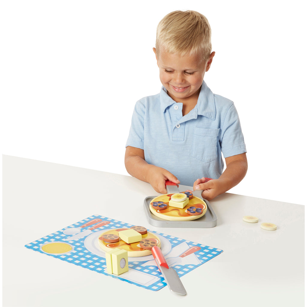 Melissa and Doug Play Food - Pancake Set