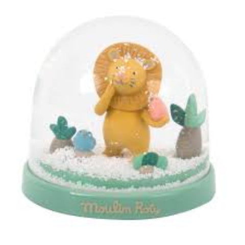 Moulin Roty Paprika Lion Snow Globe