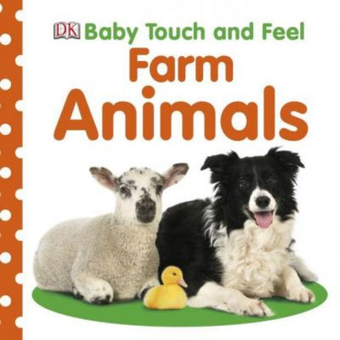 DK Books Baby Touch and Feel Farm Animals