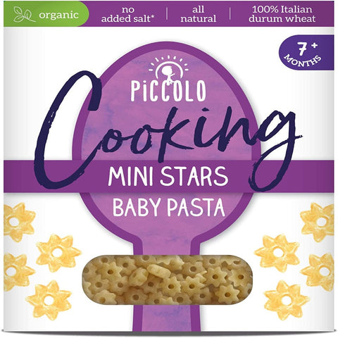 Piccolo Organic Cooking Stars Baby Pasta 7 months+