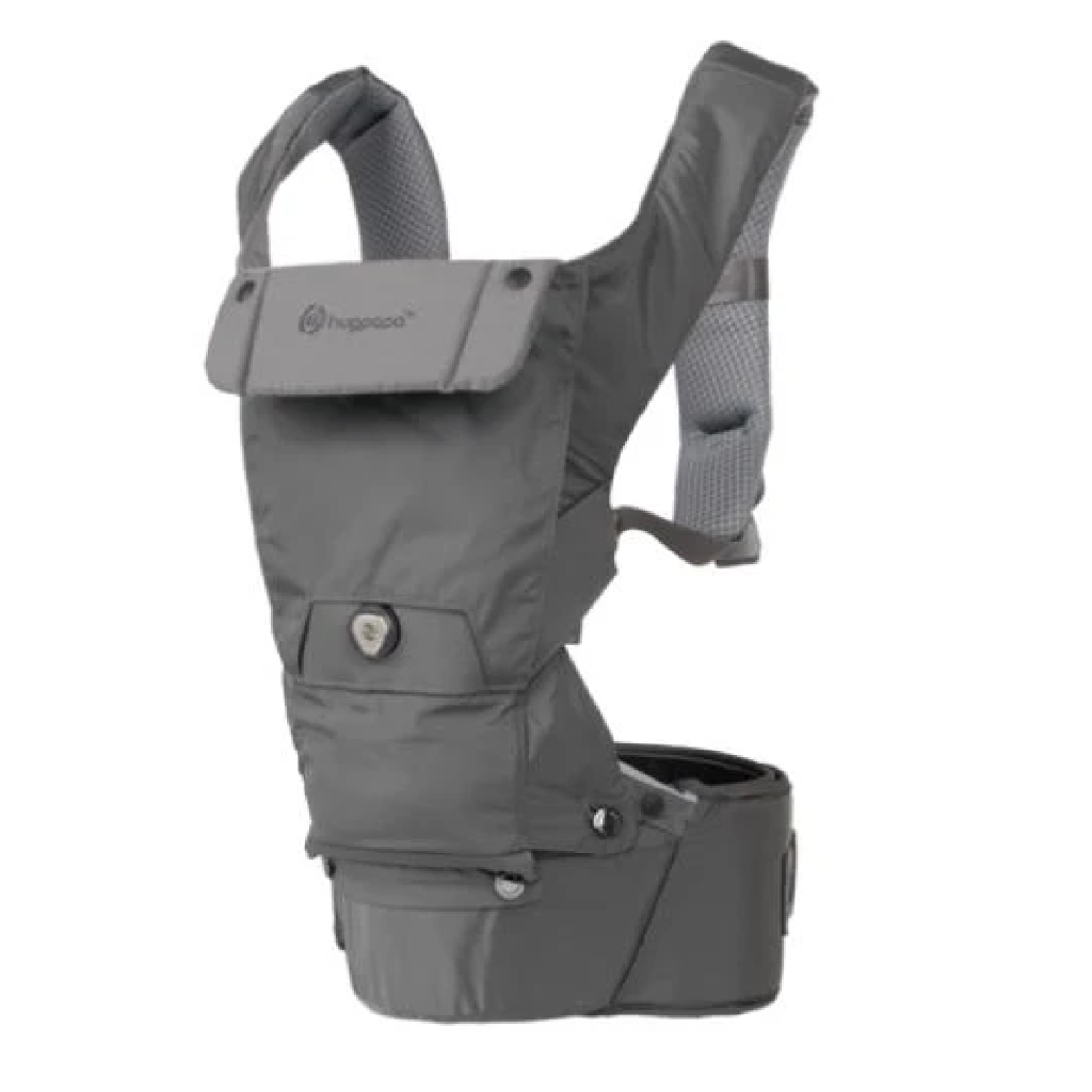 Hugpapa Dial-Fit 3-In-1 Hip Seat Baby Carrier