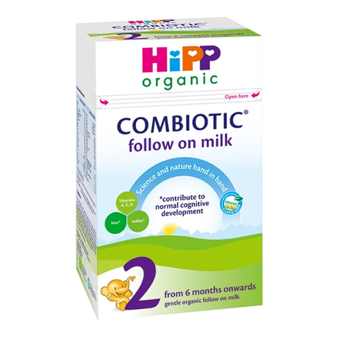 HiPP Combiotic Organic Follow On Milk 2 (6-12 months)