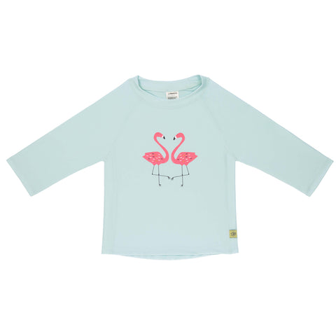 Lassig Girls Long Sleeve Rashguard Flamingo