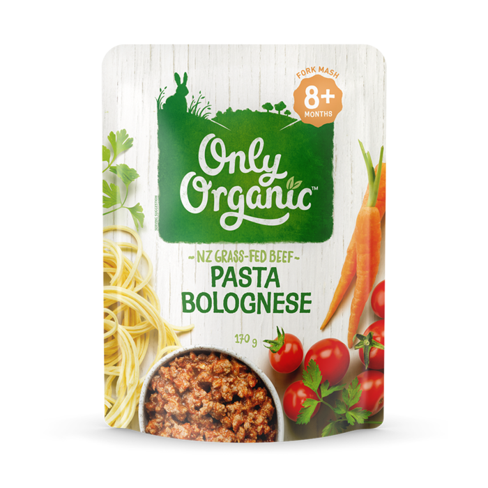 Only Organic Pasta Bolognese Savoury Meal