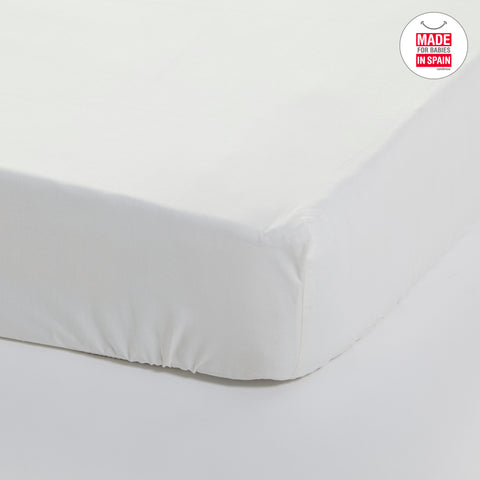Cambrass Tencel Fitted Bed Sheet - Liso Beige