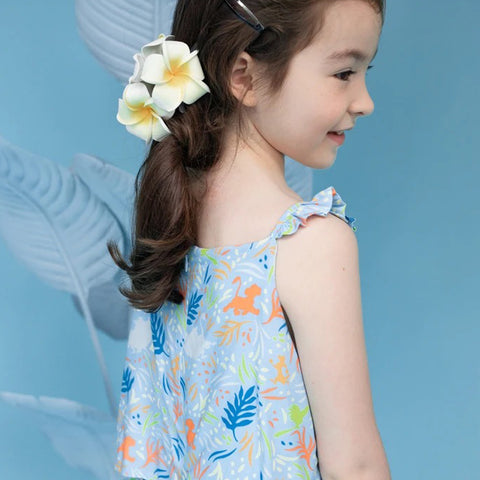 Elly Celine Dress - Blue Simba