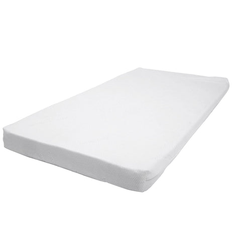 Bonbijou Anti Dust Mite High Density Foam Mattress With Holes In Bamboo Cover