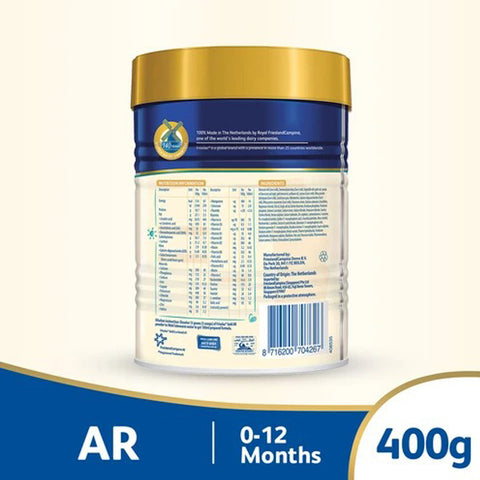 Frisolac Gold AR 400 g – Infant Formula (0-12 M)