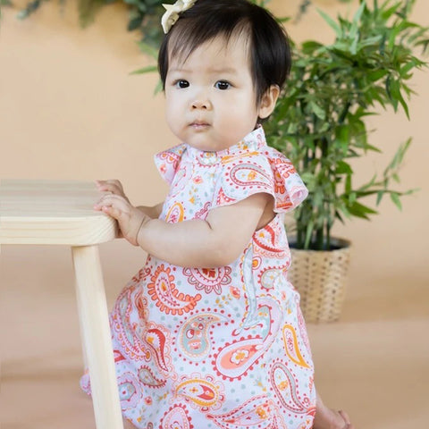 Elly Kori Dress - Paisley Lion King