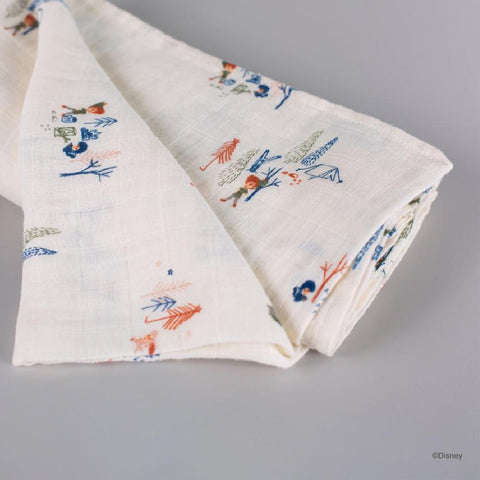 Elly Organic Cotton Swaddle - Peter Pan and the Lost Boys