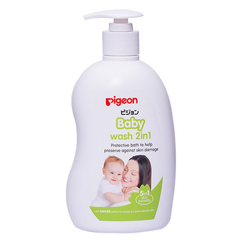 Pigeon Sakura Baby Wash 2 in 1