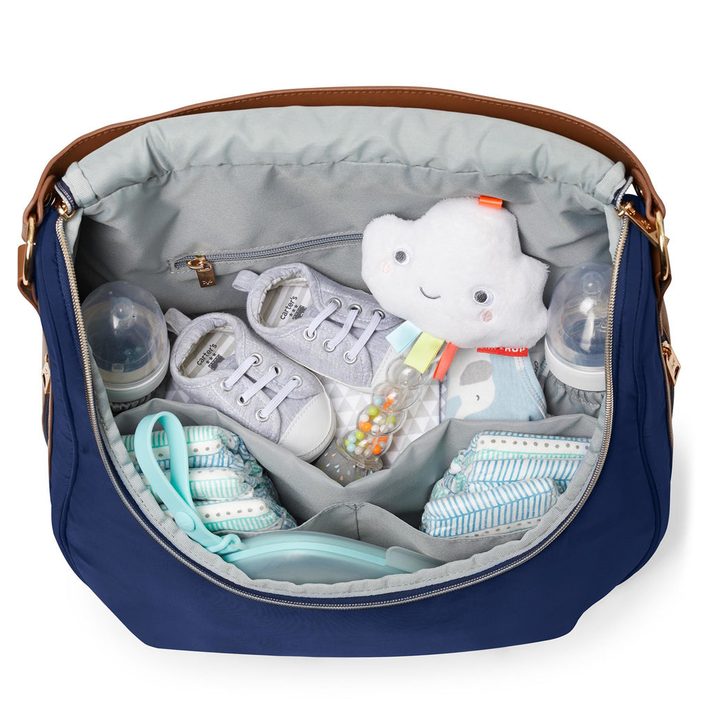 Skip Hop Curve Satchel Diaper Bag