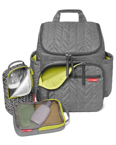 Skip Hop Forma Backpack Diaper Bag - Grey